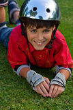 Boy roller scater Stock Photography