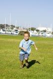 Boy running Stock Photo