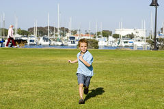 Boy running Royalty Free Stock Images