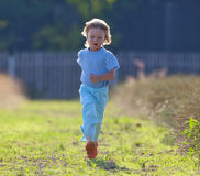 Boy running Royalty Free Stock Photography