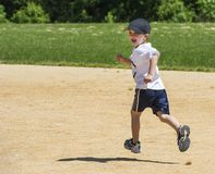 Boy Running Royalty Free Stock Image