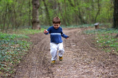 Boy Running Stock Photos