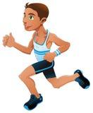Boy is running