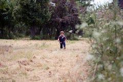 Boy running Royalty Free Stock Photography