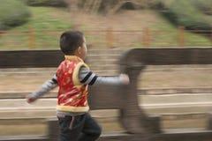 Boy running Stock Photography
