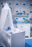 Boy's  baby room Stock Photography