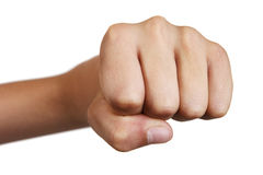 Boy's fist Royalty Free Stock Photos