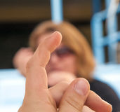 A boy's hand Stock Photo