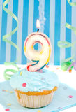 Boy's ninth  birthday Royalty Free Stock Images