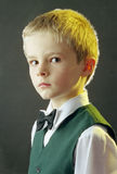 Boy's portrait. Portrait of a boy in school clothes Royalty Free Stock Images