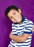 Boy's smile Royalty Free Stock Photos