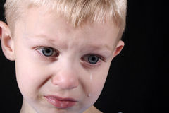 boy sad Στοκ φωτογραφία με δικαίωμα ελεύθερης χρήσης