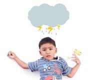 Boy sad and cry. Little boy sad and cry Royalty Free Stock Photos