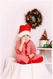 Boy Santa Claus Royalty Free Stock Photo