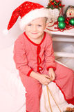Boy Santa Claus Royalty Free Stock Image