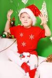 Boy Santa Claus Royalty Free Stock Photography