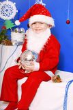 Boy Santa Claus Royalty Free Stock Photo