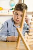 Boy at school Stock Photos