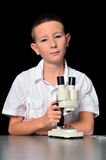 Boy Scientist Stock Photography