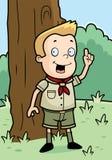 Boy Scout Royalty Free Stock Photo