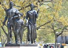 Boy scout del monumento dell'America Fotografia Stock Libera da Diritti