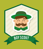 Boy scout Stock Images