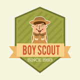Boy scout Royalty Free Stock Images
