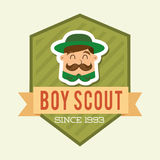 Boy scout Stock Photography