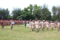 Boy Scout Parade Royalty Free Stock Photos