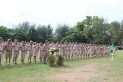 Boy Scout Parade Stock Photos