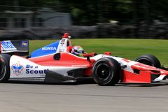 Boy scouts Indycar Royalty Free Stock Images