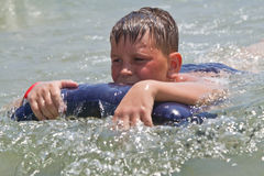 Boy at sea Royalty Free Stock Photography