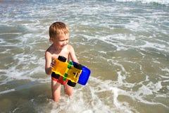 Boy & sea Royalty Free Stock Image