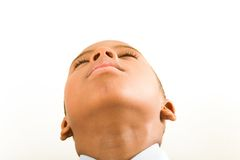 boy seeing heaven Royalty Free Stock Images