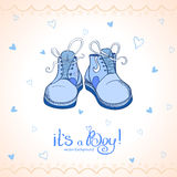 Boy shoes Stock Photos