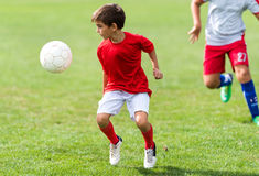 Free Boy Shooting At Goal Stock Photo - 77468850