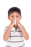 Boy sick Royalty Free Stock Images