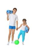 Boy with sister Stock Image