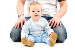 Boy sitting Royalty Free Stock Photo