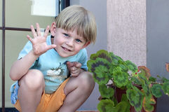 Funny kids Royalty Free Stock Photography