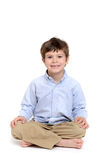 Boy Sitting Royalty Free Stock Image
