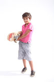 Boy with a skateboard Royalty Free Stock Photo