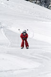 Boy skiing Royalty Free Stock Photography
