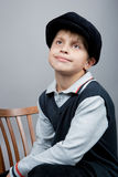 Boy with smile Stock Photos