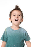 Boy smiled. Royalty Free Stock Photo