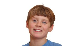 Boy smiles Stock Images