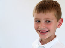 Boy smiling Stock Photos