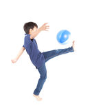 Boy soccer Royalty Free Stock Photo