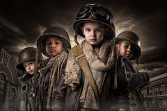 Boy Soldiers Stock Photos