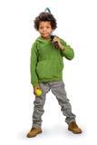 Boy sportsman. Royalty Free Stock Image